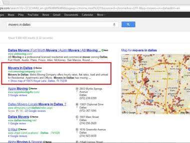 top 3 in google.com