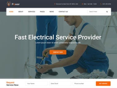 web site design (wordress & shopify& php)
