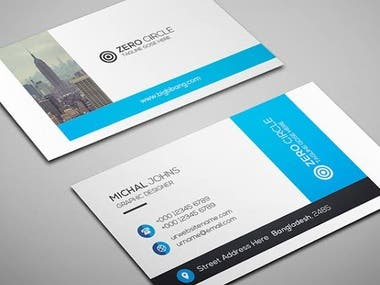 banner & logo & bussiness card & poster