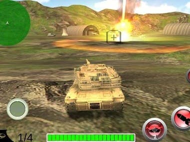 3D Game - Real Army Panzer Battle