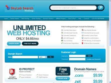 SkyLab Search Web Hosting Company