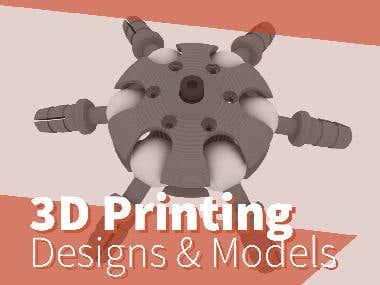 3D Printing - CAD/CAM Designs