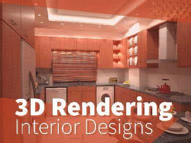 Interior 3D Rendering Album