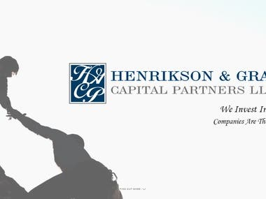 Website of Henrikson & Graul Capital Partners, LLC, USA