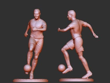 sculpt 3d figure