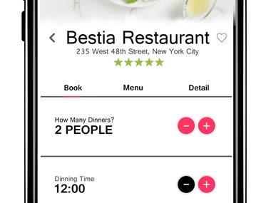 UI Screen Design