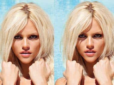 retouch greek Maxim magazine