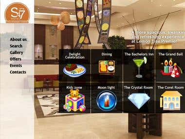 S47 Hotels Four Star Hotel Website Design