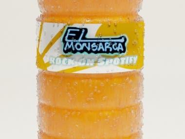 Product Rendering ( Juice bottle)