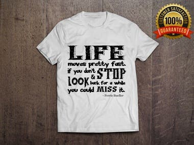 QUOTED TEE