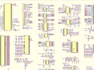 Schematic design of tablet