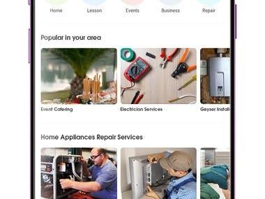 Kam Kaj Customer App - Xamarin, iOS, Android
