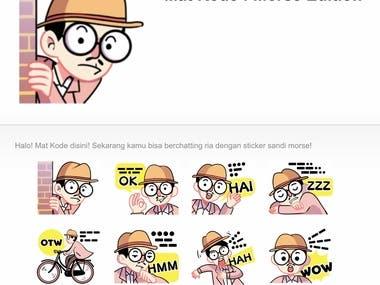 Sticker Whatsapp / LINE Messenger