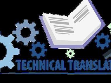 English-Arabic Technical Translation