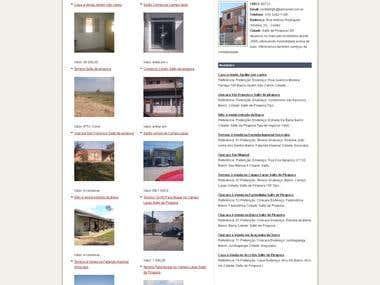 Wordpress realstate site
