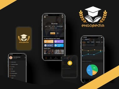 Online Student Education Mobile App
