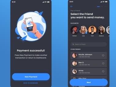 Payement App interface