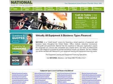 Vendor Portal for NELC