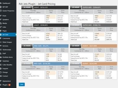 Custom Plugin with dedicated Admin Area