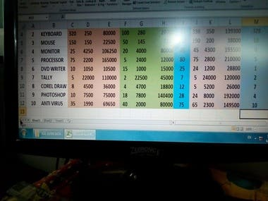 Balane Sheet made by Excel. This is Fully Automatically.
