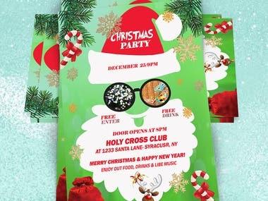 Christmas Flyer Designs