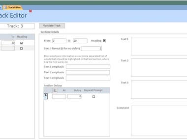 Access Database Forms and Sub-forms