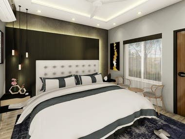 Interior Designing and 3D Visualization Rendering