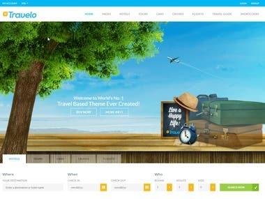 Wordpress & Landing page