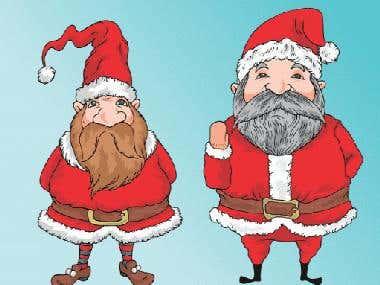 Christmas Logo & Illustrations