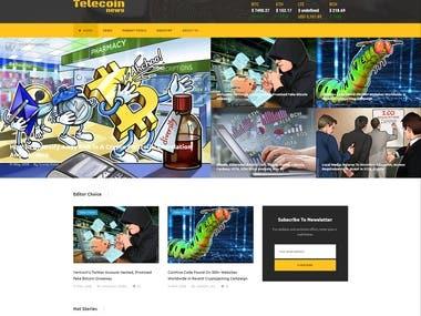 Crypto News Site