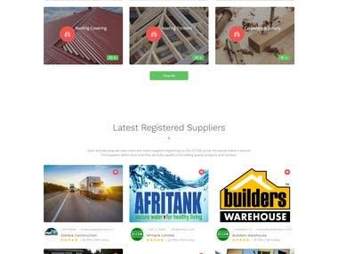 Service Provider Website.