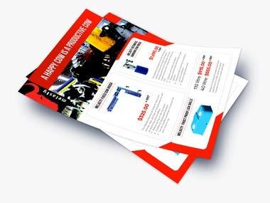 Melasty Promotion Flyer