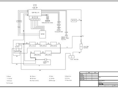 Wiring Diagram for electrical system