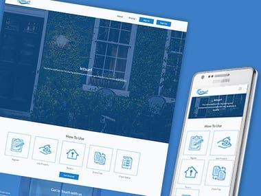UX/UI Design for Letsurf- File sharing Platform