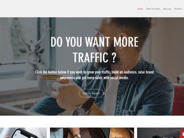 Business Presentation Site -- PHP + WordPress