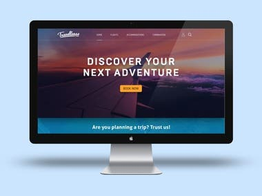 Travellease Landing Page