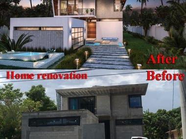 home renovation works