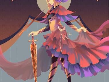 Full body character illustration