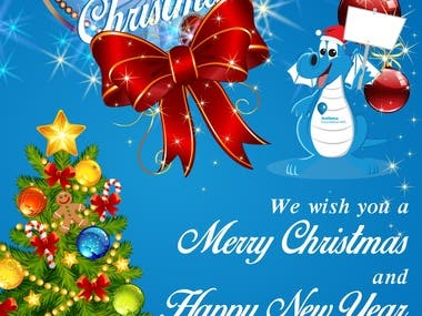 Christmas & New Year Card