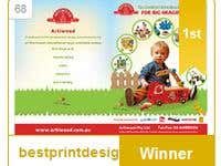 A winner entry in Advertisement Design contest