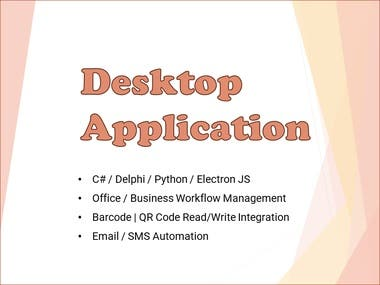Desktop Application