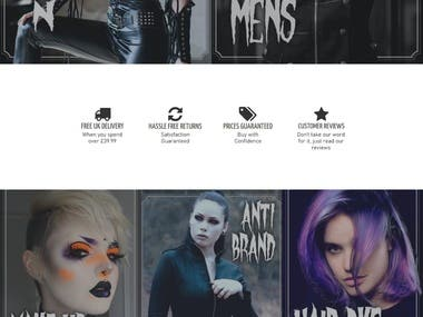 Kate s Clothing Alternative and Gothic Clothing Footwear