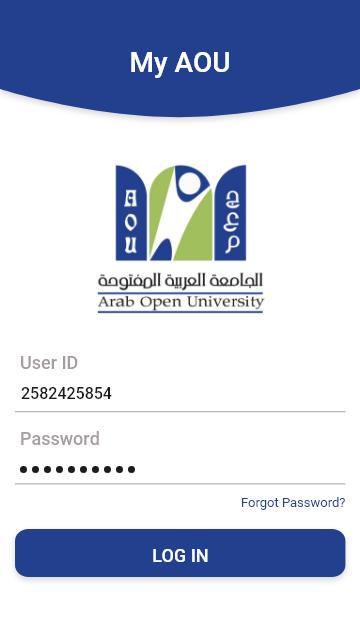 Arab Open University Student Application