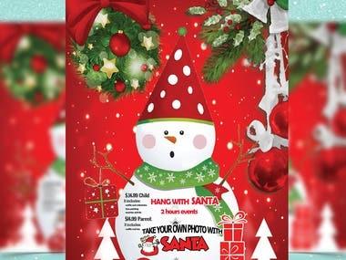 Latest Christmas Flyer Design