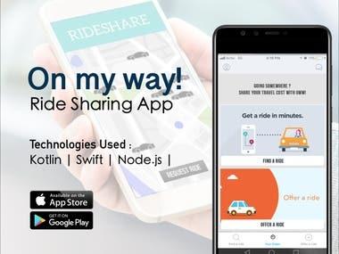 OMW - Ride Sharing App
