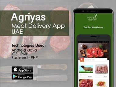 Agriyas - Meat Delivery App