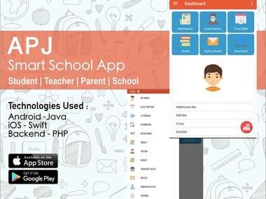 APJ Smart School App