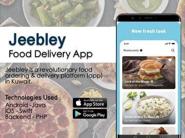 Jeebley - Food Delivery App
