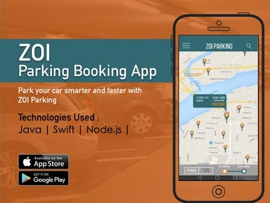 ZOI - Parking Booking App