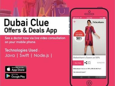 Dubai Clue - Offers & Deals App